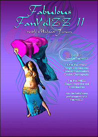 DVD: FAN VEILZZ VOL. 2 Mahsati Janan's Fan Veil Dancing  (tribal fusion)