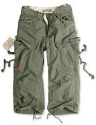 Surplus 3/4 Engineer Shorts Olive Green