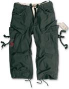 Surplus 3/4 Engineer Shorts Black