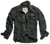 Surplus Raw Vintage Heritage Jacket Black
