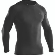 Under Armour Tactical Crew Long Sleaved T-Shirt  Black (COLD GEAR)