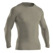 Under Armour Tactical Crew Long Sleaved T-Shirt Sand (COLD GEAR)