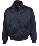 Harrington Bomber Jacket (NAVY BLUE)