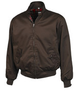 Harrington Bomber Jacket (BROWN)