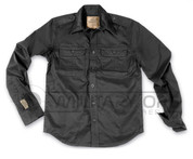 Surplus Raw Vintage Plain Summer Shirt (Black)