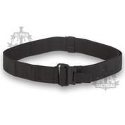 Roll Pin Belt Black Black Buckle