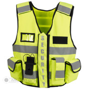 tactical security patrol vest Hi Viz