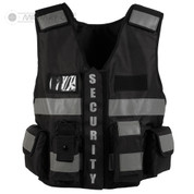 Tactical Security Patrol Vest Black