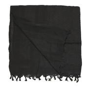 Plain Black Shemagh