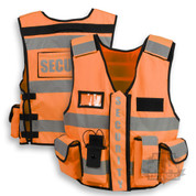 Security Vest HiViz Orange
