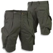 Alpha Tactical PCS ACU Shorts Olive Green