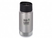 Klean Kanteen Wide Mouth Insulated (355ml Brushed Stainless)