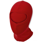 Red Thermal Open Face Balaclava