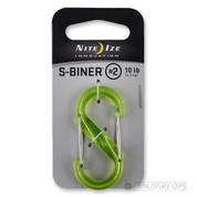 NITE IZE S BINER CARABINER SIZE 2 (lime)