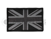 Union Jack Velcro Patch Small (Black)