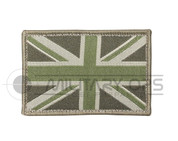 Union Jack Velcro Patch Small (Green)