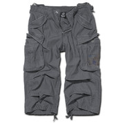 BRANDIT INDUSTRY 3/4 LEGNTH SHORTS ANTHRACITE GREY