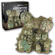 Children's Adventure Vest Kit MTP Camo