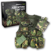 Children's Adventure Vest Kit DPM Camo