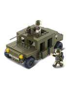 Sluban Military Bricks Humvee