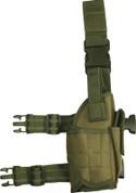 Universal Adjustable Gun / Pistol Holster Olive