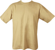 Military T Shirt Sand Beige