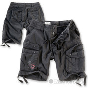 Surplus Raw Vintage Airborne Vintage Shorts  Black