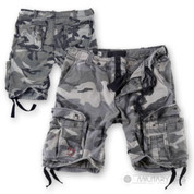 Surplus Raw Vintage Airborne Vintage Shorts Night Camo