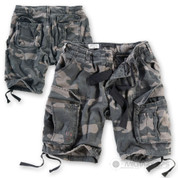 Surplus Raw Vintage Airborne Vintage Shorts Black Camo