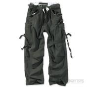 Surplus Raw Vintage Fatigue Trousers Black