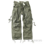 Surplus Raw Vintage Fatigue Trousers Olive Green