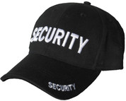 Security Baseball Cap Black
