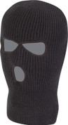 3 Hole Balaclava Black