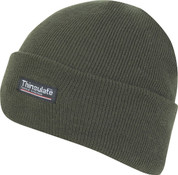 Thinsulate Bob Hat Olive Green Adult