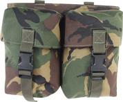 Military PLCE Double Utility Pouch DPM