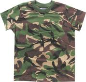 Kids Solider 95 T Shirt DPM Camo 100% Cotton