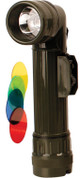 Military Angle Torch Large Olive Green