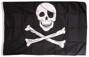 Jolly Roger Flag (Skull & Crossbones)