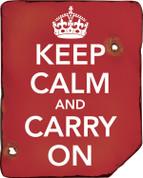 Keep Calm & Carry On Sign