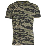 Military Woodland Tiger Stripe T-Shirt
