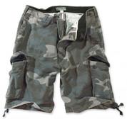Surplus Vintage Shorts - Black Camo