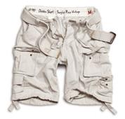 Surplus Division Shorts Off White