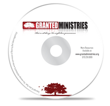 Granted Ministries MP3 Disc John Piper