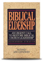 Biblical Eldership front cover