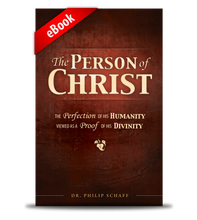 Person of Christ eBook cover