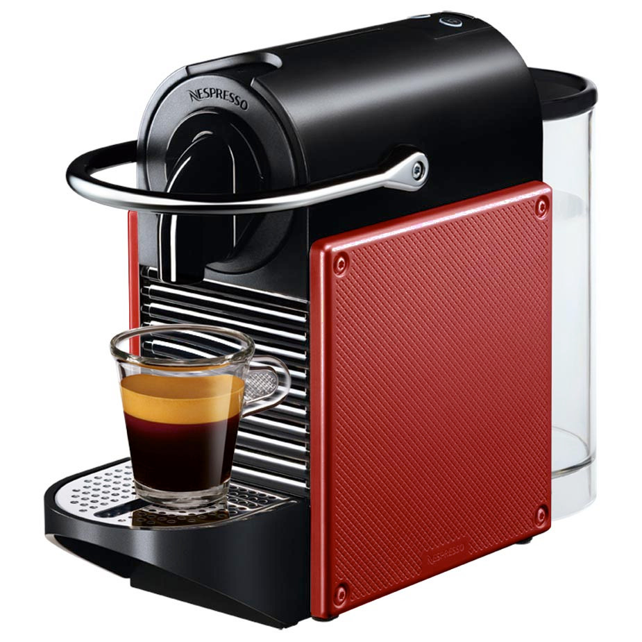 Magimix Nespresso Pixie Coffee Machine in Red