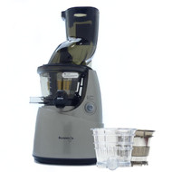 Kuvings B8200 Whole Fruit Juicer in Silver with Accessories