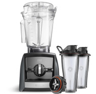 Vitamix Ascent Series A2500i Blender in Grey with 600ml Blending Cup Starter Kit