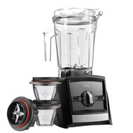 Vitamix Ascent 2300i Series Blender In Black with 225ml Blending Bowl Starter Kit