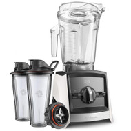 Vitamix Ascent 2300i Series Blender In White with 600ml Blending Cup Starter Kit